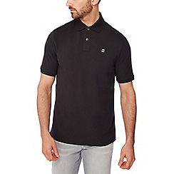 G-Star - Black logo detail polo shirt