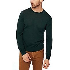G-Star - Green merino wool jumper