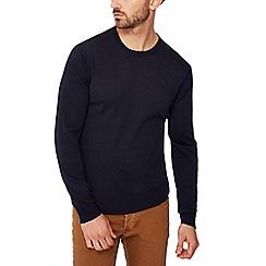 G-Star - Navy merino wool jumper