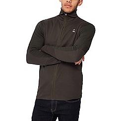 G-Star - Dark green zip through sweatshirt