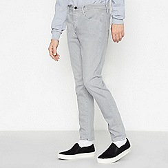 G-Star - Grey '3301' Slim Fit Jeans