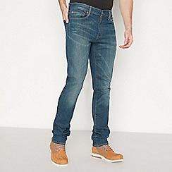Levi's - Blue Mid Wash '511' 'Limerick Adv' Slim Fit Jeans