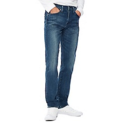 Levi's - Big and tall blue mid wash '511 amor' slim fit jeans