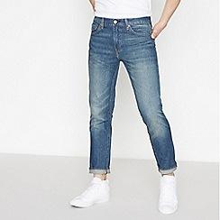 Levi's - Dark Blue Vintage Wash '511' 'Megamouth' Slim Fit Jeans