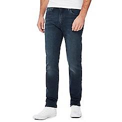 Levi's - Blue mid wash '510' 'Eyser' skinny fit jeans