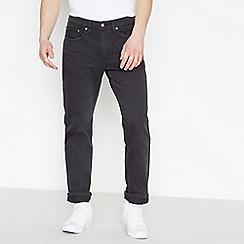 Levi's - Black '514' Straight Fit Jeans