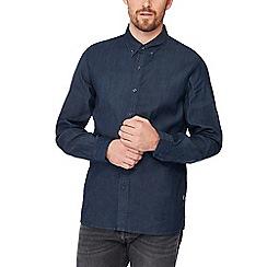 Levi's - Dark blue 'Pacific' long sleeve regular fit shirt
