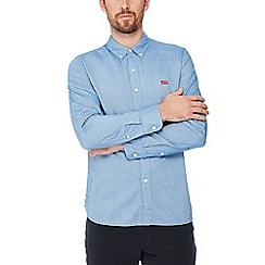 Levi's - Blue 'Housemark' long sleeve regular fit shirt