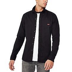 Levi's - Black 'Housemark' long sleeve regular fit shirt
