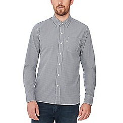 Levi's - Blue checked 'Sunset' long sleeve regular fit shirt