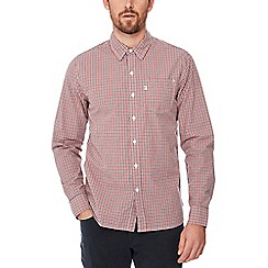 Levi's - Red checked 'Sunset' long sleeve regular fit shirt
