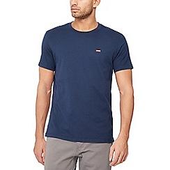 Levi's - Dark blue logo applique t-shirt
