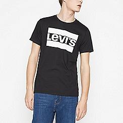 Levi's - Black Logo Graphic Cotton T-Shirt