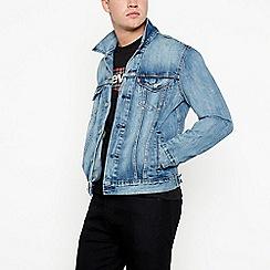 Levi's - Light blue denim 'killebrew' trucker jacket