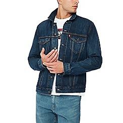 Levi's - Dark blue 'trucker' denim jacket