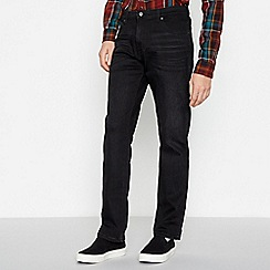 Wrangler - Black 'Texas' Regular Fit Jeans