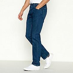 Lee - Blue Mid Wash 'Darren' Slim Jeans
