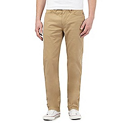 Levi's - Beige regular fit chinos