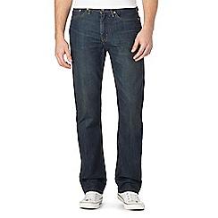 Levi's - 514&#8482  vintage wash blue straight fit jeans