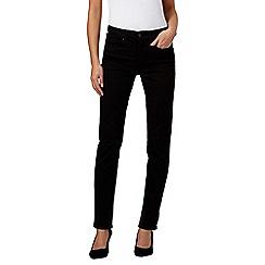 Levi's - Black 312 shaping slim jeans