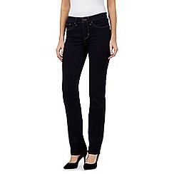 Levi's - Dark blue 314 shaping straight jeans