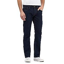Lee - Dark indigo 'Daren' straight leg jeans