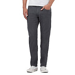 Lee - Grey 'Daren' straight leg jeans