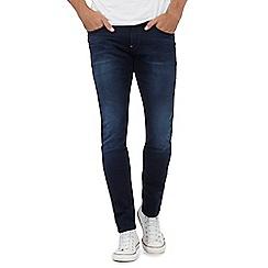 G-Star - Blue dark wash 'Revend' superslim jeans
