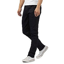 G-Star - Navy \u00273301\u0027 tapered jeans