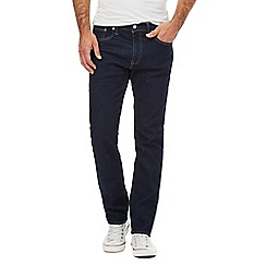 Levi's - Dark blue '502' tapered jeans