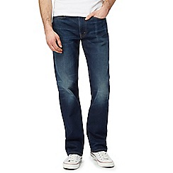 Levi's - Dark blue 514 straight fit denim jeans