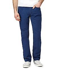Levi's - Navy 514 straight leg jeans