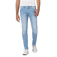 Wrangler - Light blue 'Bryson' slim fit jeans
