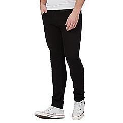 Wrangler - Black 'Bryson' skinny jeans