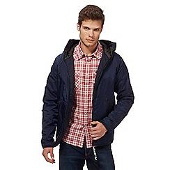 G-Star - Navy hooded jacket