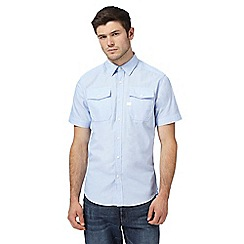 G-Star - Light blue two pocket shirt