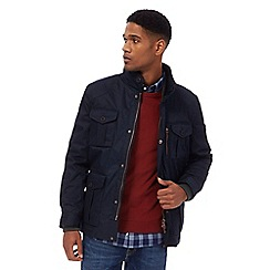Racing Green - Big and tall navy three-in-one jacket