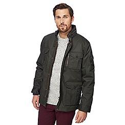 Racing Green - Big and tall khaki 3-in-1 jacket