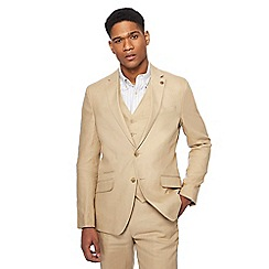 Racing Green - Big and tall natural linen blazer