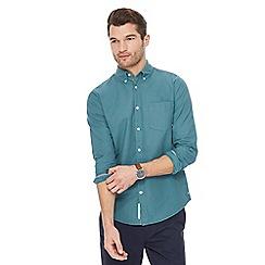 Racing Green - Green Oxford shirt