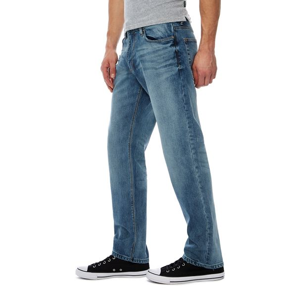 straight tall jeans leg wash and Big Green blue light Racing tqZ0zW