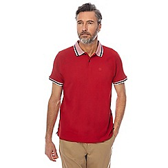Racing Green - Red polo shirt