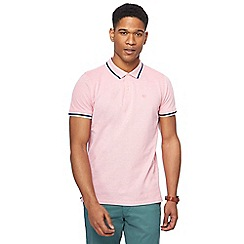 Racing Green - Big and tall pink polo shirt