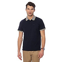 Racing Green - Big and tall navy polo shirt