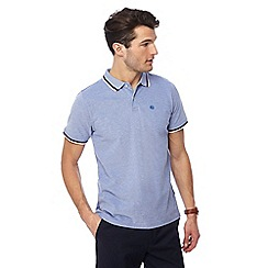 Racing Green - Big and tall blue polo shirt