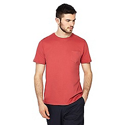 Racing Green - Big and tall dark red t-shirt