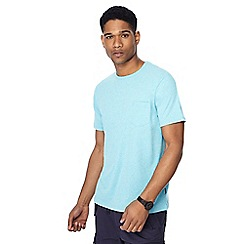 Racing Green - Big and tall turquoise marl t-shirt