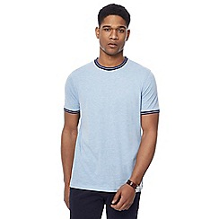 Racing Green - Light blue tipped t-shirt