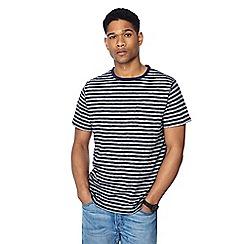 Racing Green - Navy striped t-shirt