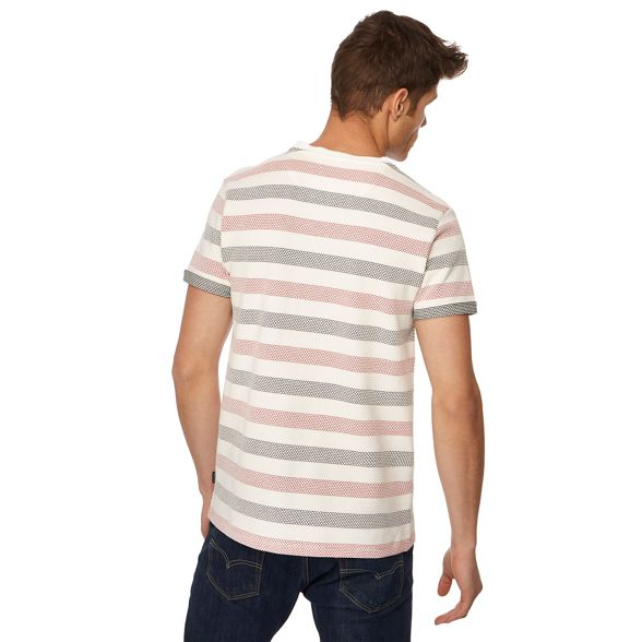 white Big and stripe tall popcorn Racing Green shirt t IqO6ZwnPc5